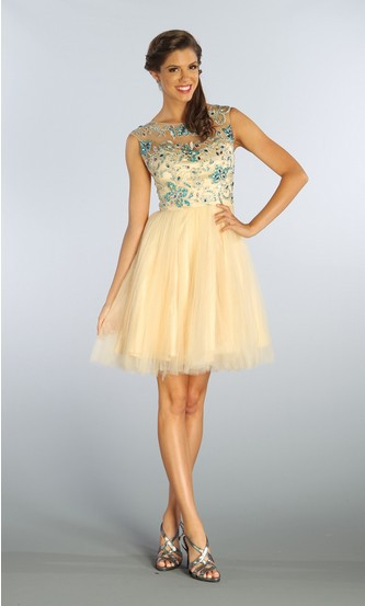 Free Shipping 2018 Elegant Goddess Formal Short Champagne Prom Party Gown Vestido De Noiva Beads And Crystals Bridesmaid Dresses
