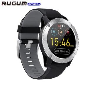 Image 3 - Impermeabile 3ATM di Nuoto di sport della vigilanza di Bluetooth Inseguitore di Fitness Aria Pressione della Frequenza Cardiaca di Musica Intelligente Della Vigilanza Degli Uomini di RUGUM Z1