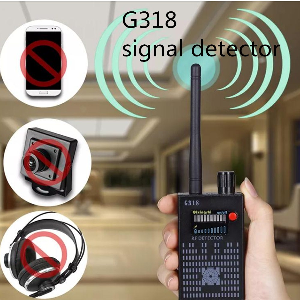 G318 Anti-eavesdropping Anti-monitoring Anti-monitoring Gps Positioning Signal Detector Mobile Phone Signal Detection Instrument
