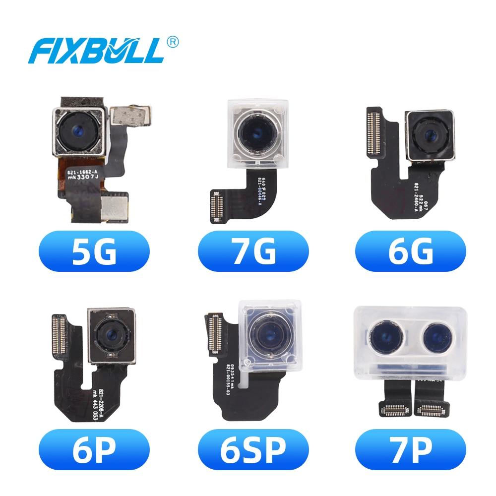 FIXBULL Back Camera Module Flex Cable For IPhone 5 5S 5C 6 6S 7 8 Plus 6s 6Plus 6SPlus 7Plus 8Plus Rear Camera Replacement Parts