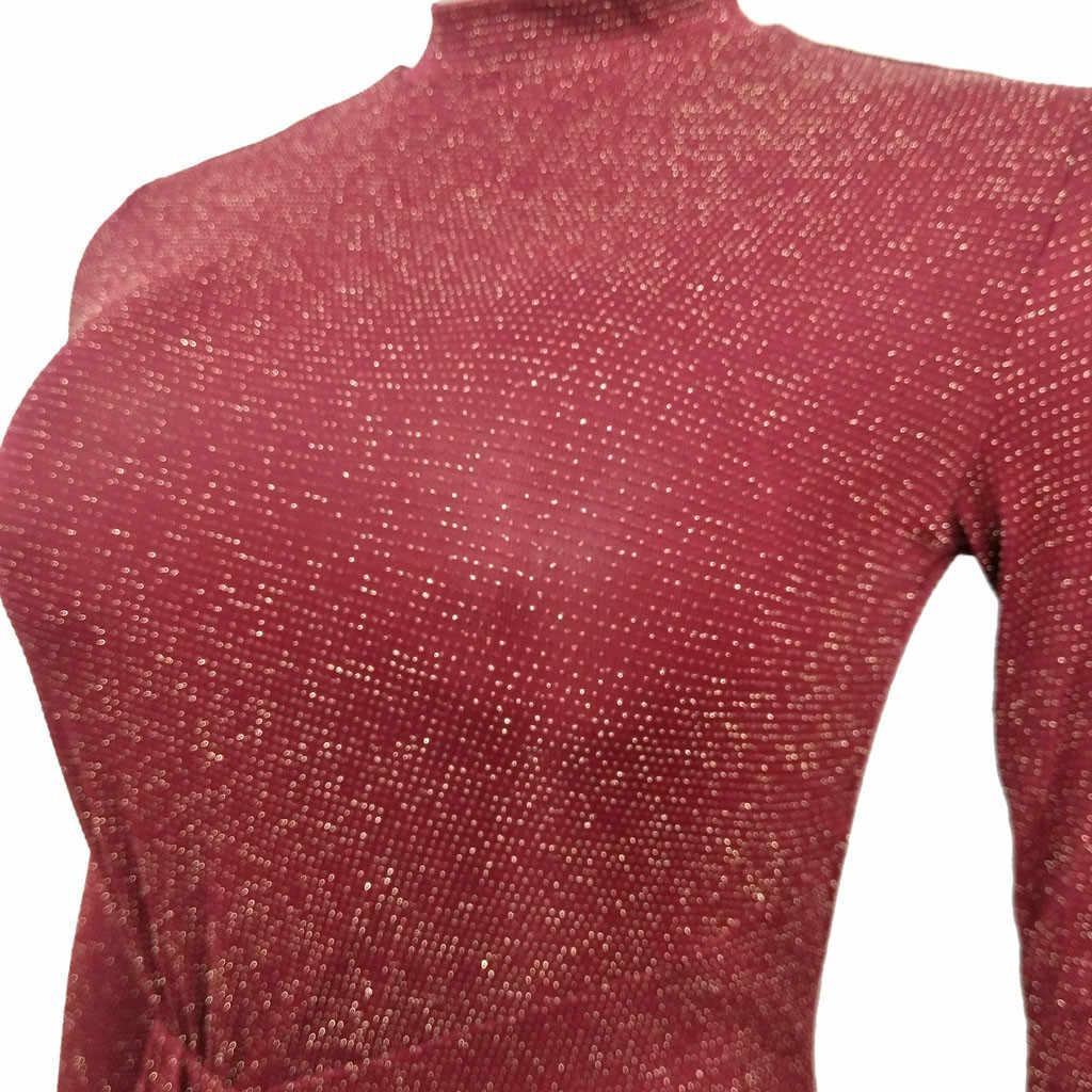 Womens jurken voor feesten en partijen onregelmatige fall winter runway mini vrouwen jurk herfst jurk vrouwen 2019 ropa mujer # C