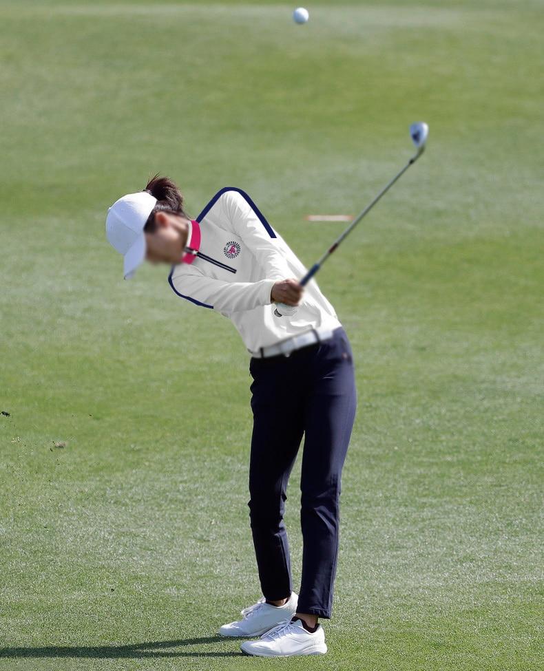 Camisas de treinamento de golfe pgm mulheres