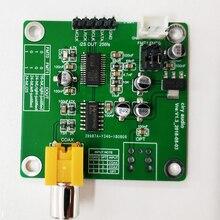 DIR9001 Modulo Ricevitore in Fibra Coassiale Spdif per I2S Frequenza di Campionamento 24bit 96Khz Dedicato per Dac Coassiale Rca, fibra Ottica H149