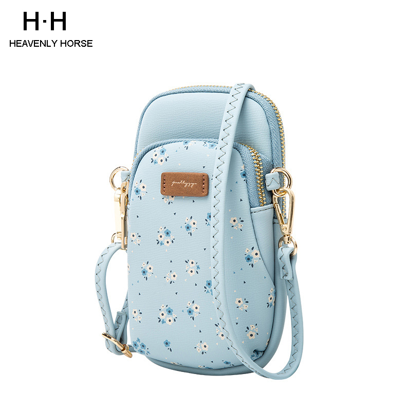 2019 New Women Small Shoulder Bags Solid Color Flap Hasp Phone Bag Pu Leather Crossbody Casual Lady Messenger
