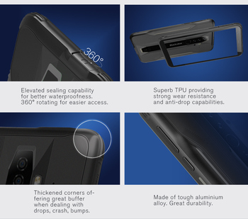 BLACKVIEW BV6300 IP68 Waterproof 5.7 inch Screen Rugged Phone Helio A25 3GB+32GB Smartphone 4380mAh Android 10 Mobile Phone NFC 2