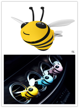 Creative Bees air freshener ventilation outlet interior perfume spray vehicle perfume for Buick Jepp Ford PEUGEOT Ferrari image
