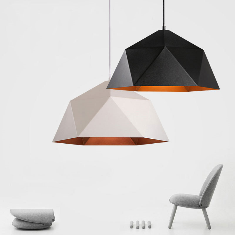 Modern Black Iron Pendant Lights Industrial Lamp Loft Decor Kitchen Hanging Lamps Living Room Suspension Luminaire Light Fixture