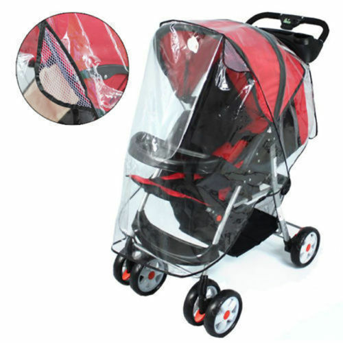 2019 Brand New Baby Stroller Raincover Universal Pushchair Pram Buggy Rain Cover Transparent Rain Cover