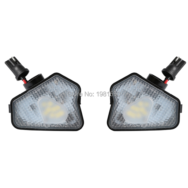 2pcs LED under mirror puddle <font><b>light</b></font> for Mercedes-<font><b>Benz</b></font> W176 W204 W242 W246 W212 <font><b>W221</b></font> W209 X156 C218 W117 auto accessory image