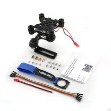 цена на HAKRC 2-Axis CNC Metal Brushless BGC2.2 PTZ Control Panel Gimbal Stabilizer for RC Drone Camera Gopro3 DJI Phantom