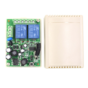 Image 5 - 433Mhz Remote Control Switch for Light Door Garage Gate Remote AC 85V ~ 250V 110V 220V 2CH Relay Receiver and Controller