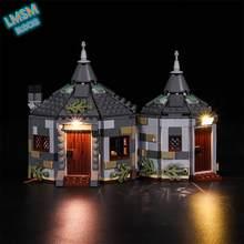 Luz led adequado para 75947 magia castelo hagrid hut buckbeak resgate blocos de construção led decoração luz para brinquedos do miúdo