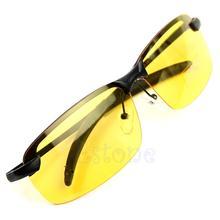 Day Night Vision Men's Polarized Sunglasses Driving Aviator Mirror Sun Glasses