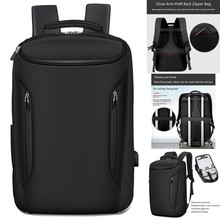 Hot sale Men Anti-Thief Waterproof 15.6 Laptop USB Backpack Travel School Computer Bag Computer