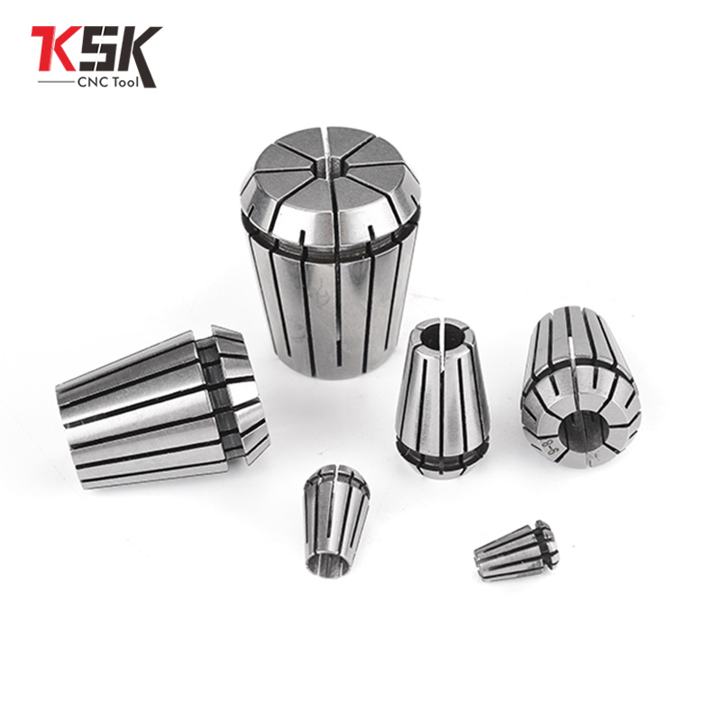 1pcs ER11 1-8MM 1/4 MM 6.35MM 1/8MM 3.17MM 5Spring Collet High Precision Collet Set For CNC Engraving Machine Lathe Mill Tool