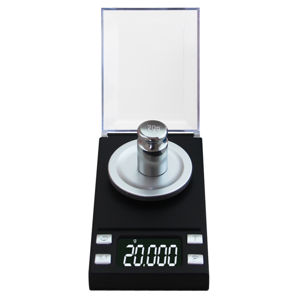 New Electronic Mini LCD Digital Jewelry Scale 20g/50g/100g 0.001g High Accuracy Backlight Pocket Jewelry Weight For Kitchen