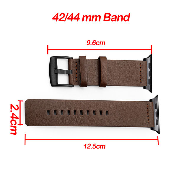 Genuine Leather Band for Apple Watch 5