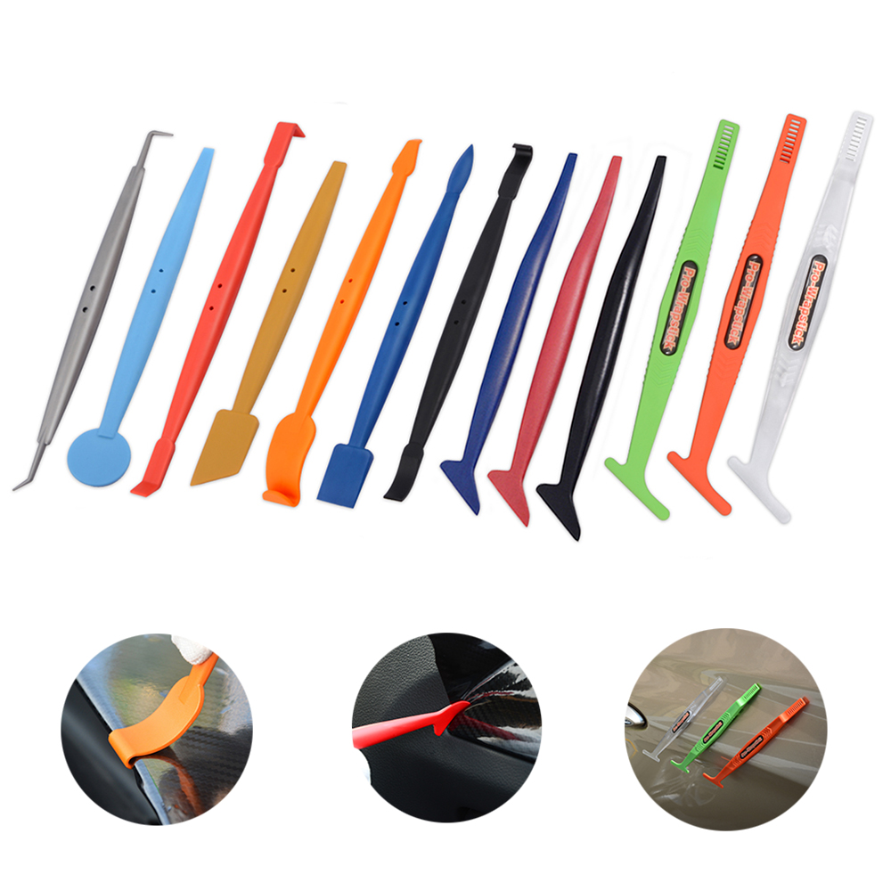 EHDIS Vinyl Film Car Wrap Magnet Corner Edge Stick Squeegee Set Car Accessories Carbon Fiber Sticker Wrapping Tool Window Tint(China)