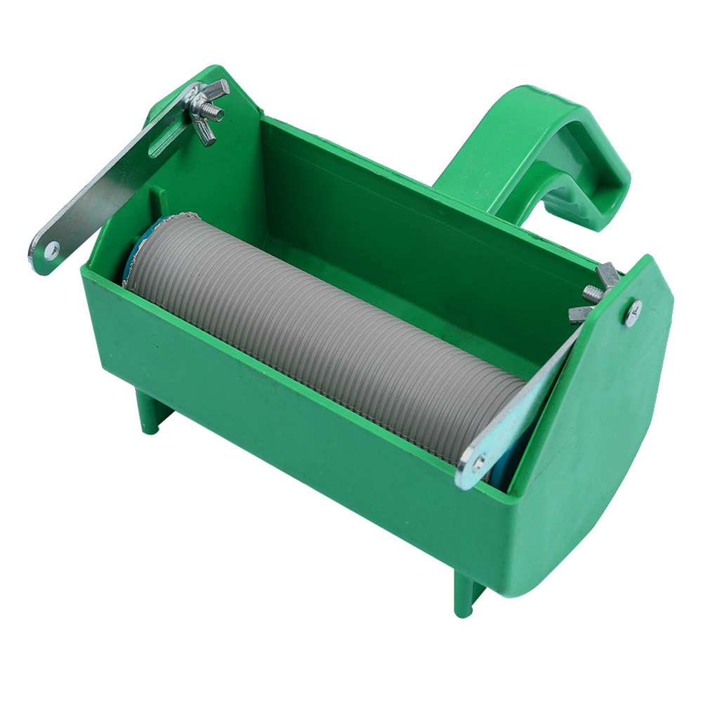 Embossed Rubber Roller Brush Tool Fast Pattern DIY Wallpaper Home Painting Machine Texture Handheld Reusable Wall Decoration
