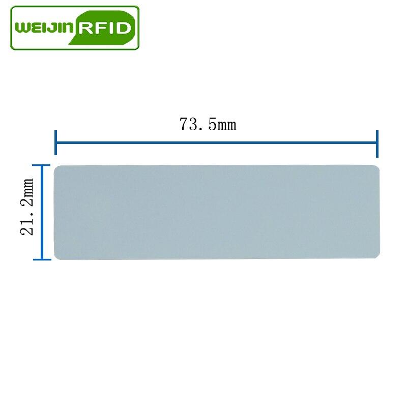 UHF RFID наклейка Alien 9662 EPC6C для печати медные наклейки 915m868mhz Higgs3 3000 шт клей пассивный RFID этикетка