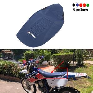 Image 1 - Gripper мягкий чехол для сиденья универсальный подходит для внедорожных мотоциклов для Husqvarna 250 450 FE TE TC FC KTM 125 450 SX SXF EXC XC W