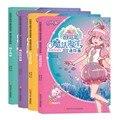 4 pçs/set Ba Lala Pequena Fada Mágica Magia Oceano Livros de Histórias Em Quadrinhos História do Retrato das Crianças para As Meninas (6-12 Anos de Idade)