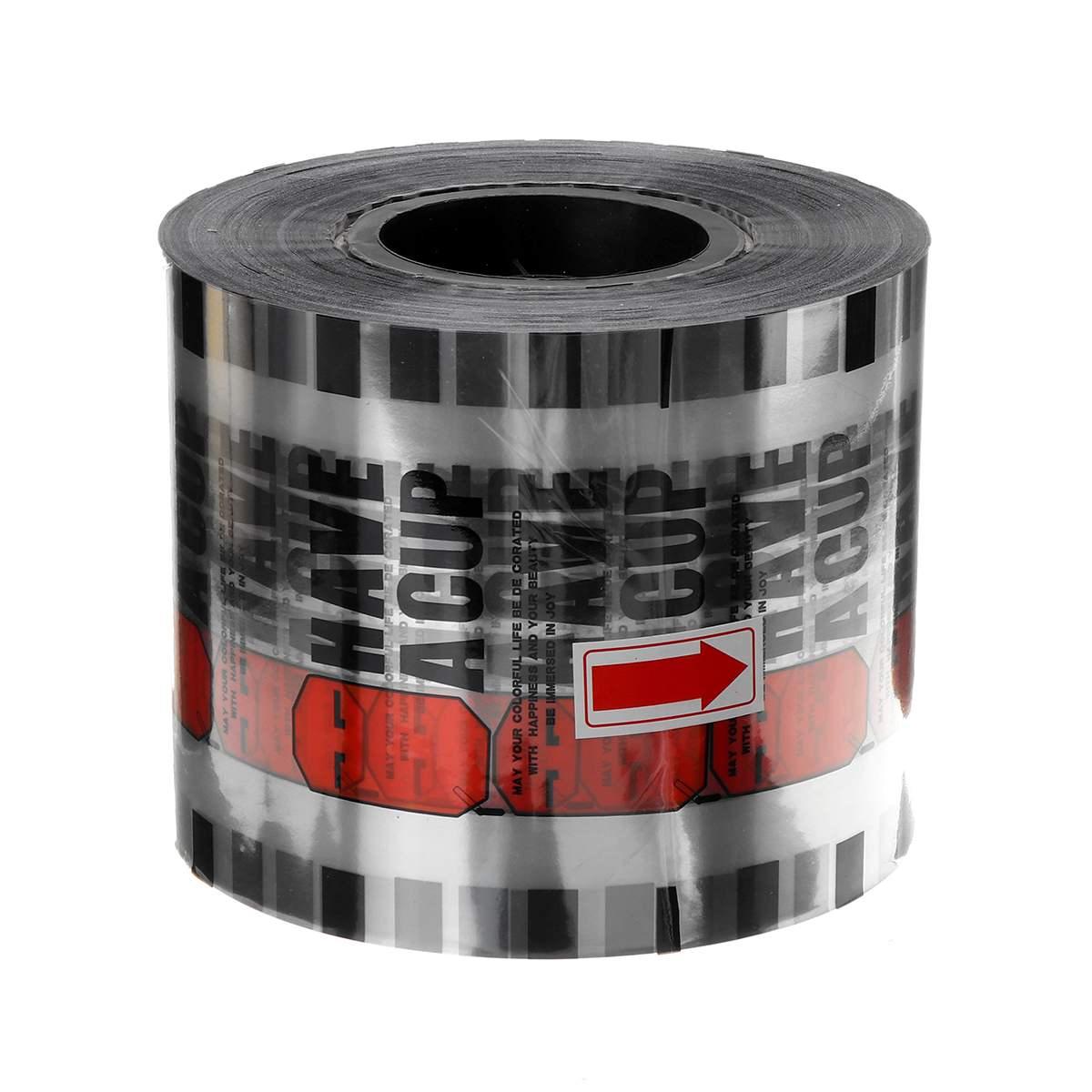 2500 Cups Cup Sealer Bubble Tea Juice Drink Film Cover Sealing Film For Cup Sealer Sealing Machine Cover 95mm