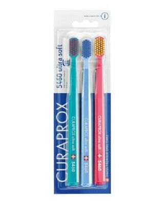 Triple Loaded CURAPROX CS 5460 Toothbrush Swiss Super Soft Toothbrush Random Release