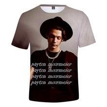 2020 модная футболка с 3d принтом peyton moormeier Мужская/женская