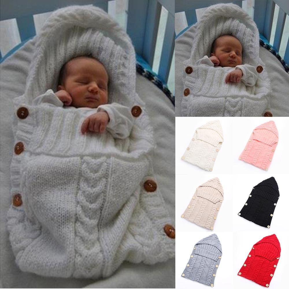 Baby Blanket Knitted Newborn Swaddle Wrap Blankets Super Soft Toddler Bedding Quilt For Infant Bed Sofa Basket Stroller Blankets