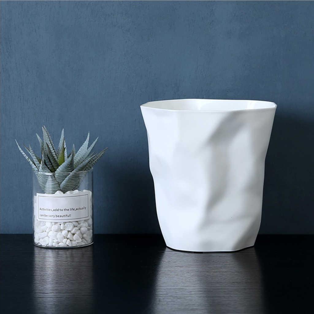 Mini Recycling Bin Tabletop Ashtray Waste Basket Living Room ...
