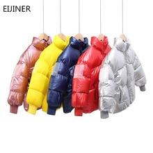 купить Children Winter Jacket Boys Girl Coats Cotton Down Children snowsuit Thickening Jackets Outerwear toddler Coats kids parka дешево