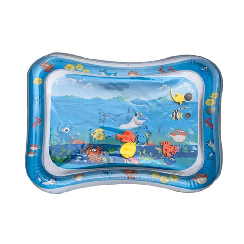 Cartoon Shark Inflatable Game Water Mats Superior Quality Ice Pad For Kids Baby Skillful Manufacture Fun Activity