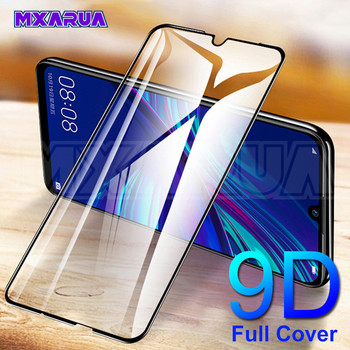 9D Protective Glass on the For Huawei Honor 9X 8X 10 9 8 Lite Tempered Screen Protector Honor 20 Lite V30 V20 V10 Glass Film 1