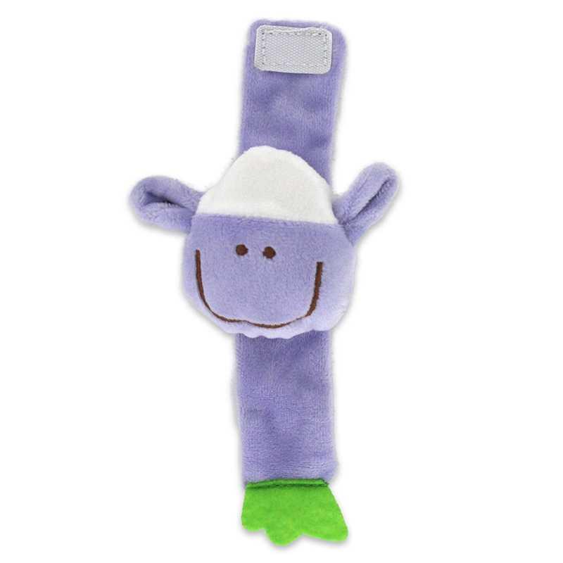 SONAJA de muñeca para niños, juguete de Animal para cuna de felpa para recién nacidos, juguete educativo de 0-24 meses para niños, cochecito de bebé, sonajero de cama 1 Uds.