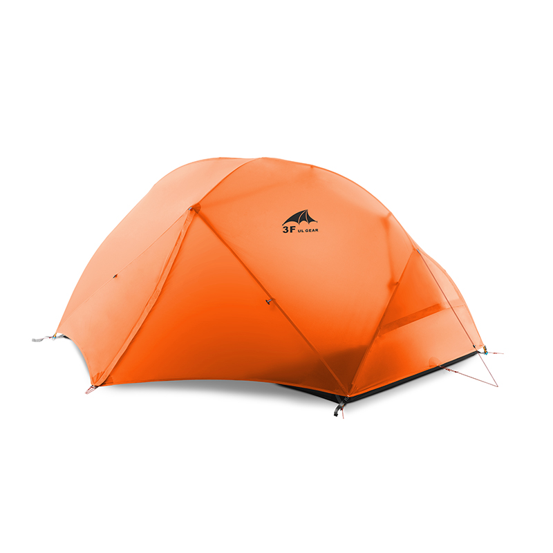 3F UL GEAR Floating Cloud 2 Camping Tent 3-4 Season 15D Outdoor Ultralight Silicon Coated Nylon Hunting Waterproof Tents image