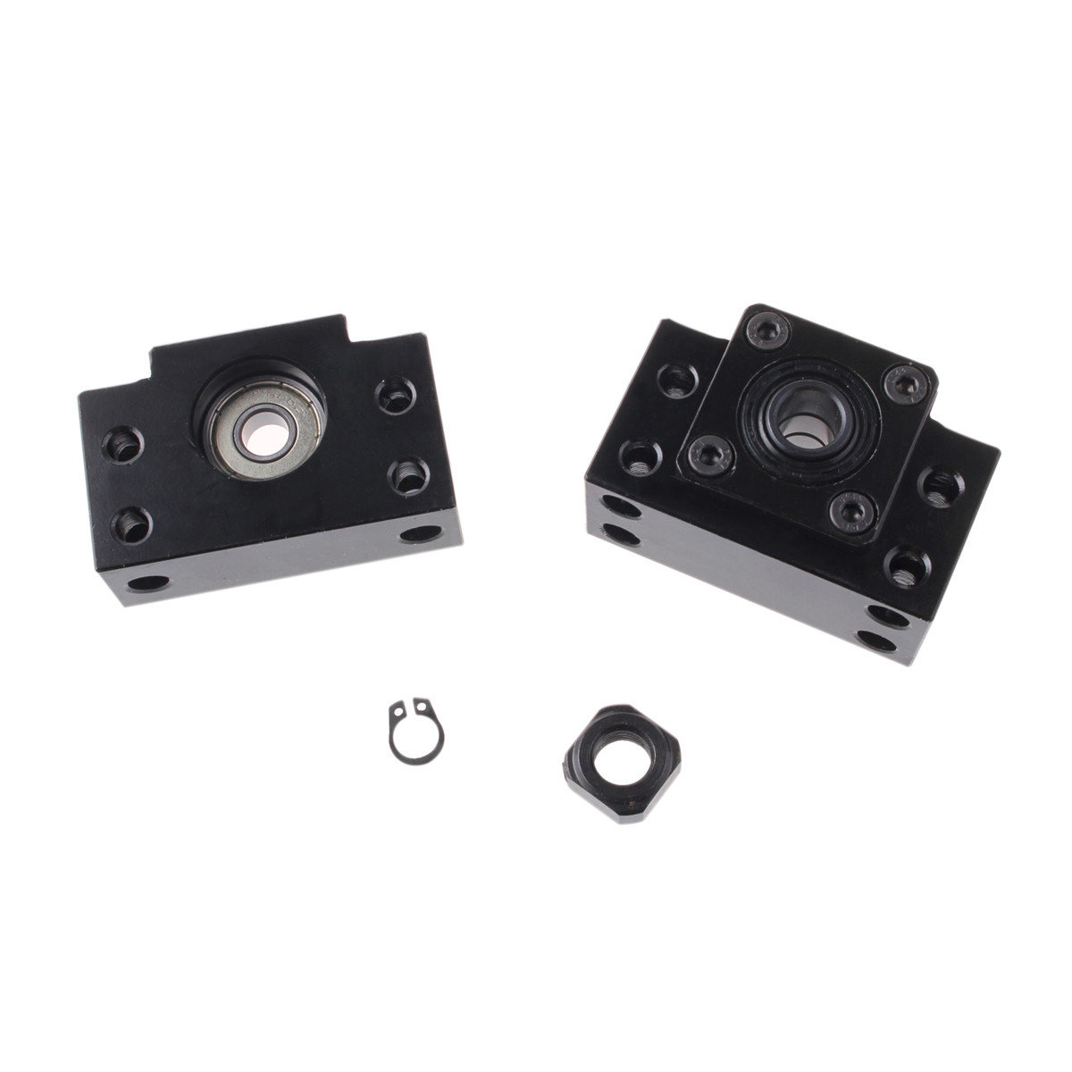 Image 5 - Ball Screw SFU1605 250 300 350 400 450 500 550 600 650 700 750 900 1000 End machine with BK12/BF12 End Support Bearing Mounts-in Linear Guides from Home Improvement