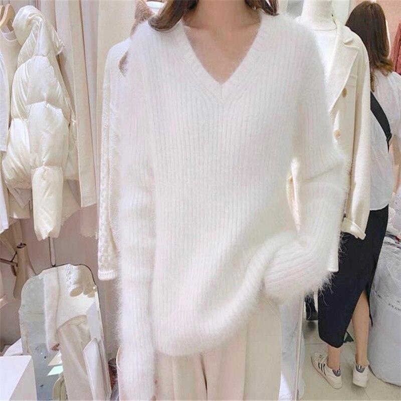 Купить ins/корейский стиль осенне зимний свитер элегантный модный кашемировый