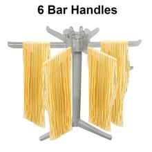 Drying-Rack Noodle-Stand Spaghetti Kitchen Pasta 6-Bar-Handles with Folding