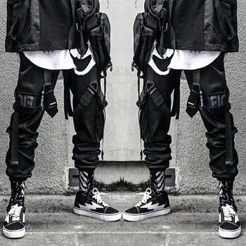 casual pant mens cargo pant  hip hop joggers streetwear fashion sweatpant sportwear pantalon homme 2020 trousers