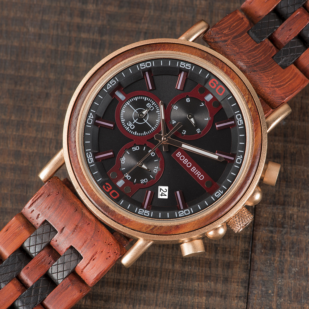 Hca5e747aedca481fa24ac87d32ccd33eO BOBO BIRD New Wooden Watch Men Top Brand