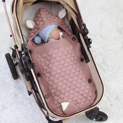 Детские спальные мешки, конверты для новорожденных 0-6 м, пеленка для новорожденных, спальный мешок для коляски, 75*35 см, Детские аксессуары с р...