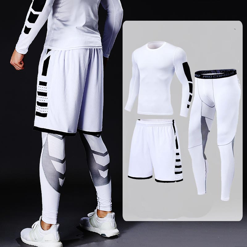 Fitness Training Tracksuit for Men Mens Clothing Tracksuits