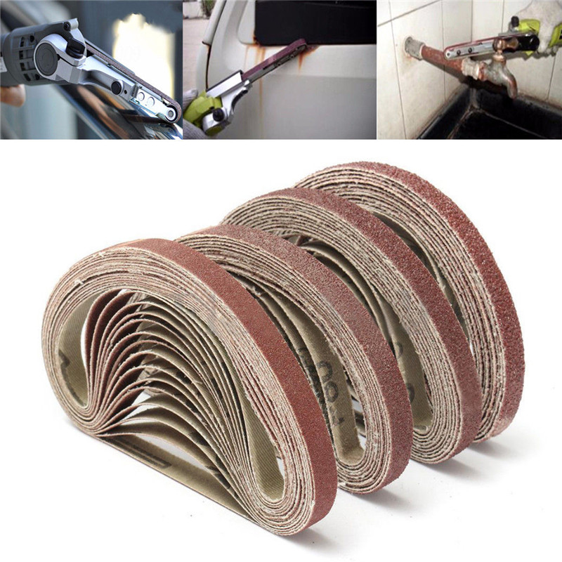 Aluminium Oxide Sanding Sander Belts 3/8