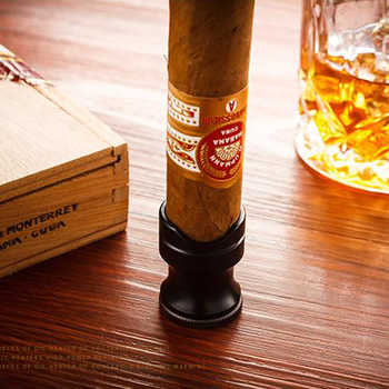 Vintage เดินทาง Cigar ผู้ถือแสดง Ashtray เหมาะกับ Cohiba ซิการ์กับซิการ์ Punch ของขวัญกล่อง