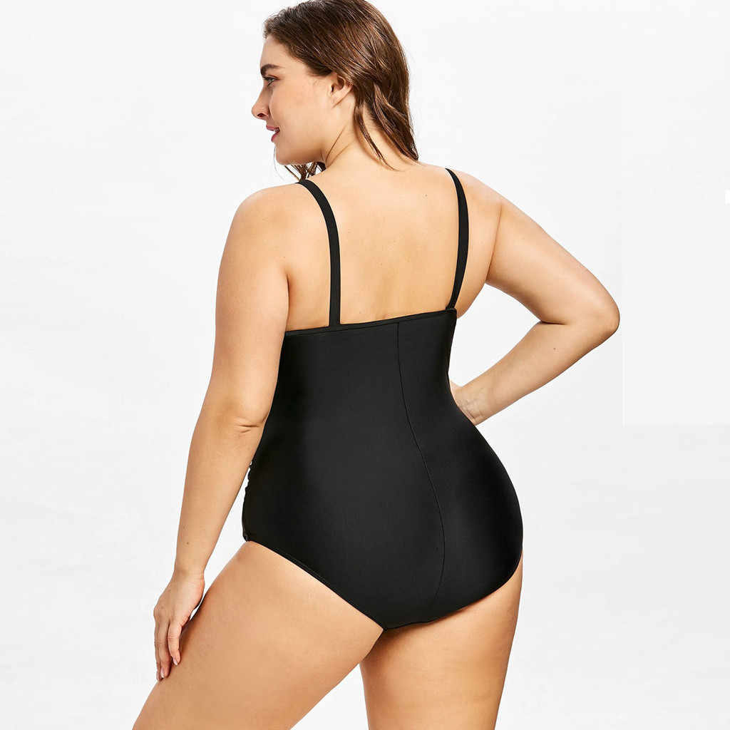 Swimsuit One Piece Bunga Cetak Gelombang Sexy Bodysuit Wanita Push Up Swimwear Monokini Biquini Wanita Brasil Mandi Suit 20Jan