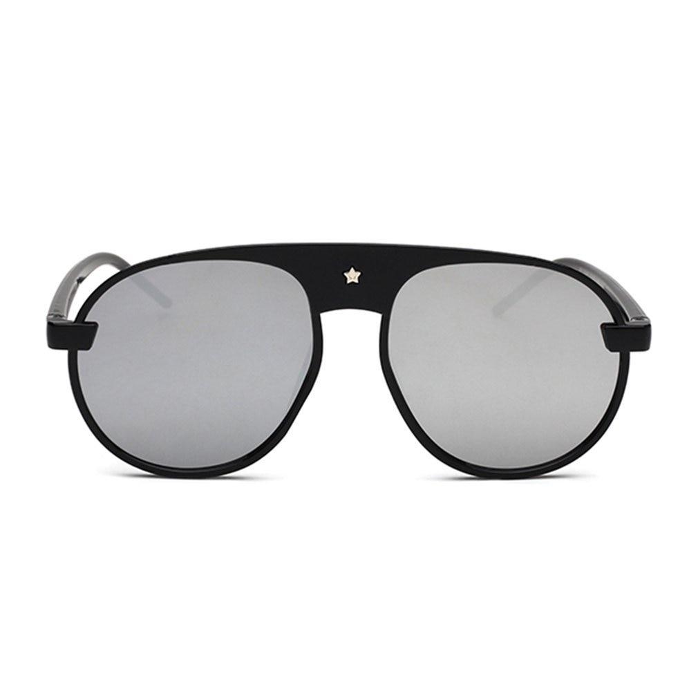 Sunglasses Stylish Oversize Sun Glasses Resin Lens Anti Ultraviolet Radiation Eyewear Female Beach Wear