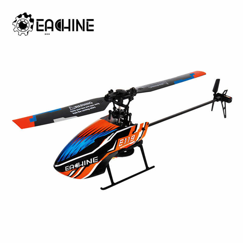 Eachine E119 2.4G 4CH 6-Axis Flybarless 8520 Coreless Hoofdmotor Rc Helicopter Rtf