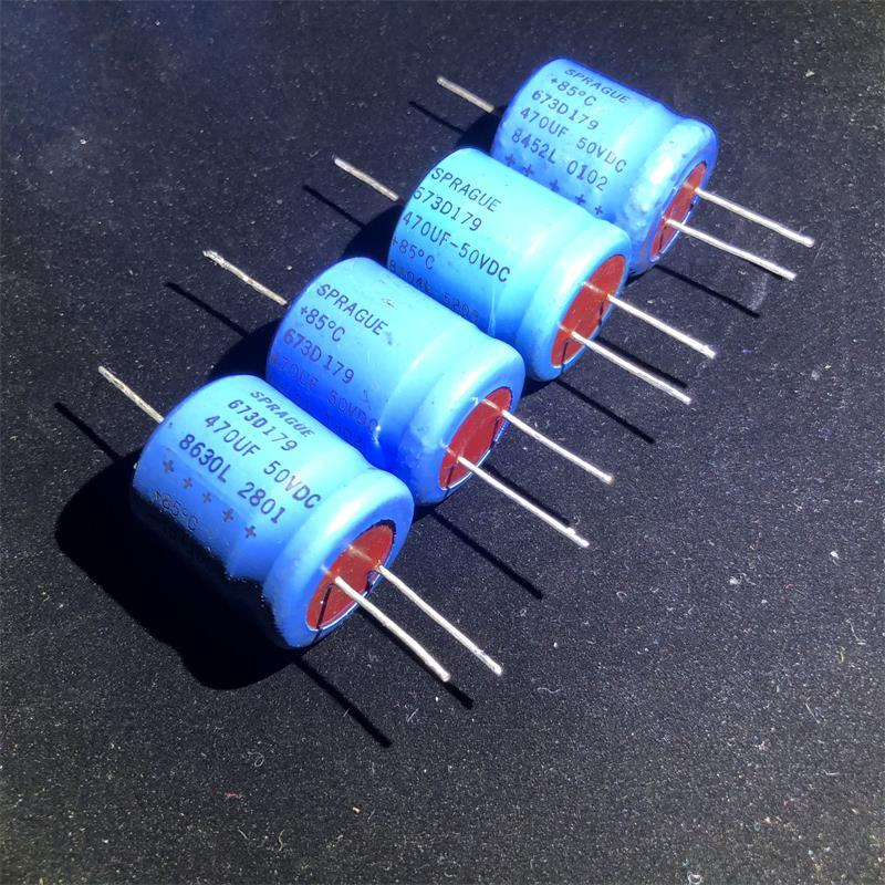 47uF Condensatore elettrolitico radiale 160 V 85 C