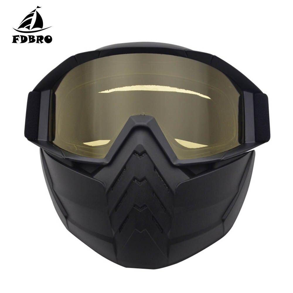 FDBRO зимние очки для мужчин и женщин, лыжные очки для сноуборда, маска для снегохода, зимние лыжные очки, очки для мотокросса